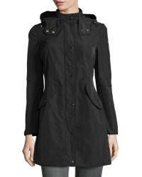 Moncler Argiela Hooded Smocked Coat - Lyst