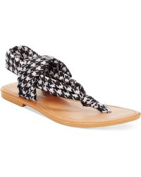 Rampage Taxi Flat Thong Sandals - Lyst