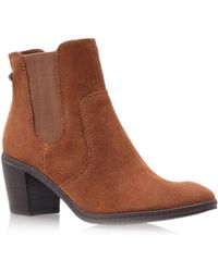 Anne Klein Buntry Ankle Boots - Brown