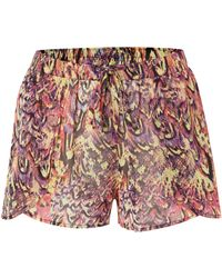 Biba | Exotic Fusion Beach Shorts | Lyst