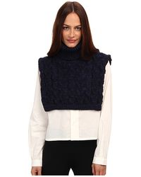 Vivienne Westwood Anglomania Peninsula Cape - Lyst
