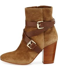 Vc Signature Pacey Harness Buckle Bootie - Lyst