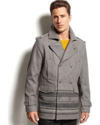 INC International Concepts - Tyndall Wool Coat - Lyst