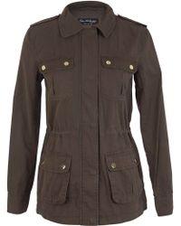 Miss Selfridge Utility Jacket - Natural