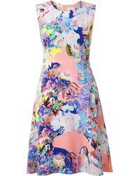 Mary Katrantzou Kelsey Dress Abalone Pop - Lyst