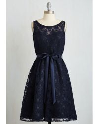 Marina - Simply Divine Dress In Navy - Lyst