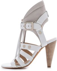 Iro Xilly Sandals - White - Lyst
