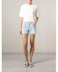 Lala Berlin - 'nalade' Denim Shorts - Lyst