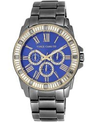 Vince Camuto - Grey Stainless Steel Bracelet Watch - Lyst