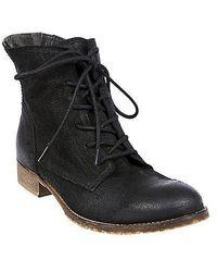 Steve Madden Rawling Suede Laceup Boots - Lyst