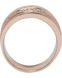 Pamela Love - Rose Gold Single Cage Ring - Lyst
