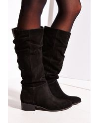 Steve Madden Pondrosa Suede Tall Boot - Lyst