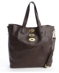 Mulberry Chocolate Brown Leather Brynmore Tote - Lyst