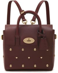 Mulberry - Mini Cara Delevingne Bag With Rivets - Lyst