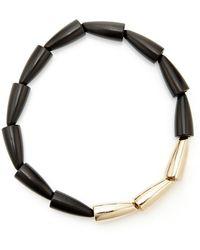 Vhernier | Calla Ebony Rose Gold Necklace | Lyst