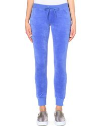 Juicy Couture Modern Velour Jogging Bottoms - For Women - Lyst