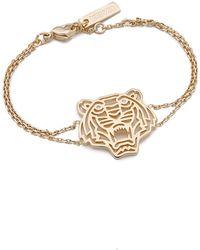 KENZO Tiger Bracelet - Metallic