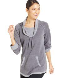 Calvin Klein Performance Funnel-neck Sweatshirt - Lyst