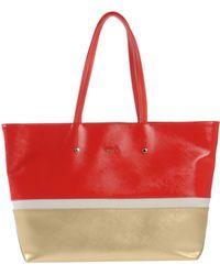 Furla Handbag red - Lyst