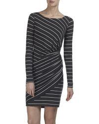 Bailey 44 Long Sleeve Stripe Dress - Lyst