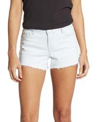 J Brand Denim Cut-off Shorts - Lyst