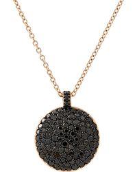 Roberto Marroni - Pave Pendant Necklace - Lyst