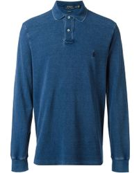 Polo Ralph Lauren Long Sleeve Polo Shirt - Lyst