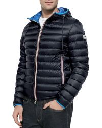 Moncler Athenes Hooded Puffer Jacket - Lyst