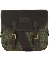 Barbour - Estate Tweed Reiver Bag - Lyst