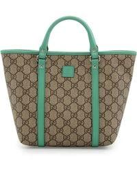 Gucci Gg Supreme Canvas Kid'S Tote Bag - Lyst
