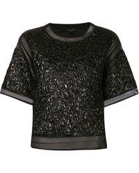 Giambattista Valli Embossed Shirt - Lyst