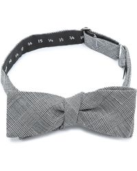 Band of Outsiders To Be Tied Glen Plaid Bow Tie - Lyst