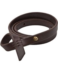 Johnny Farah | Leather Uno Belt | Lyst