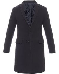Wooyoungmi - Notch-lapel Pilled Wool-blend Coat - Lyst