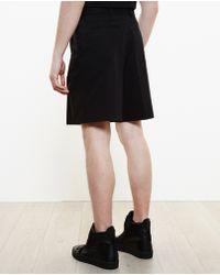 Givenchy Pleated Key-Ring Shorts-Black Size 46 Eu