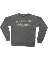Clare V. | Masculin Feminin Sweatshirt | Lyst