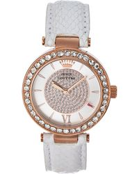 Juicy Couture 1901194 Rose Gold-Tone & White Watch - Lyst