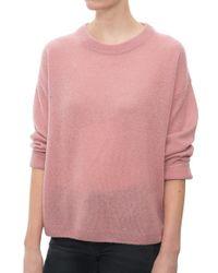 Mason by Michelle Mason Open Back Sweater pink - Lyst