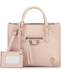 Balenciaga Papier Mini A4 Aj Tote Bag - Lyst
