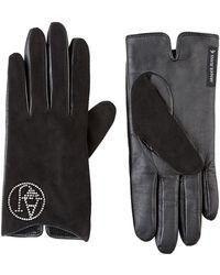 Armani Jeans - Diamantã© Logo Gloves - Lyst