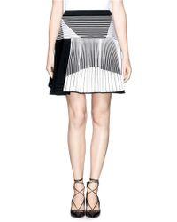 Prabal Gurung Skater Knit Skirt - Lyst