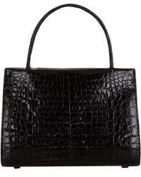 Nancy Gonzalez Mini Wallace Crocodile Handbag - Lyst