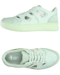 Alexander McQueen x Puma | Move Leather and Mesh Mid-Top Sneakers | Lyst