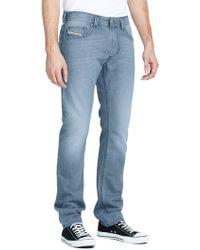 Diesel Mens Thavar 825z Skinny Low Rise Jeans - Lyst