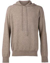 Maison Martin Margiela Brown Hood Sweater - Lyst