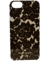 Kate Spade Cedar Street Lace Jewel Resin Phone Case For Iphone 5 and 5s - Lyst