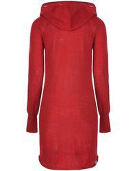 Bench - Stepup Hooded Knit Dress - Lyst