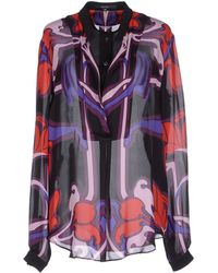 Gucci Blouse purple - Lyst