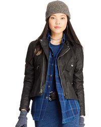 Polo Ralph Lauren Biker Jacket - Black