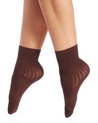 Wolford | Stripe Socks | Lyst